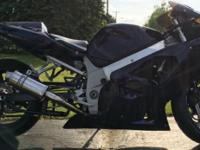 2002 Suzuki GSXR 600 28,984 miles. fresh custom paint,