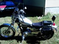 2002 suzuki savage ls650p garage kept 6400 miles belt