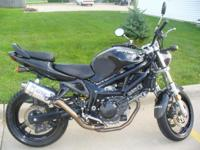 Description I am selling a 2002 SV 650! I am moving