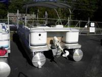 Description ELECTRIC PONTOON THIS 18' PONTOON HAS A 6HP