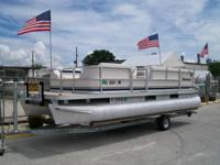 2002 SWEETWATER 20FT PONTOON BY GODFREY POWERED BY 2007
