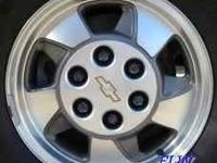 hey wass up cl i have 4 stock oem rims that came off my