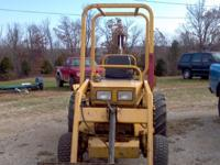 Here we have a 2002 Terramite T5C backhoe. It has 1901