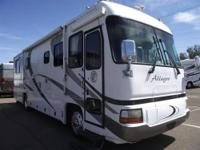 2002 Tiffin Allegro bus 35RP Short and sweet! Runs