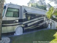 Model 40 OH with two slide-out rooms. This nice diesel