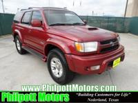 Options Included: N/A2002 Toyota 4Runner Sport Package,