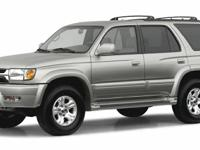 Options:  2002 Toyota 4Runner Sr5|Miles: 151628Color: