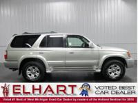 This 2002 Toyota 4 Runner Limited 4x4 WILL NOT LAST!