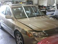 2002 Toyota Avalon -- ALL PARTS AVAILABLE! ENGINE