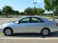 Hi I'm selling my 2002 Toyota Camry LE all wheel drive