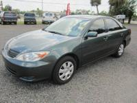 2002 Toyota Camry LE in excellent condition. This Camry