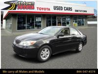 LOW MILES, This 2002 Toyota Camry LE will sell fast