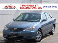 PURCHASED NEW FROM TOYOTA OF BELLINGHAM * NO ACCIDENTS
