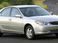 Check out this impressive 2002 Toyota Camry LE.