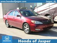 Options:  2002 Toyota Camry 4Dr Sdn|Front Wheel