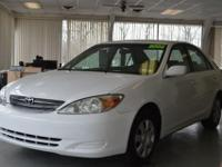 2002 Toyota Camry. Well sustained, very trusted. Our