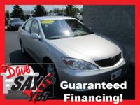 2002 Toyota Camry Sedan XLE Our Location is: Dave