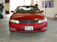2002 Toyota Camry Solara SLE V6. Leather Heated Seats,