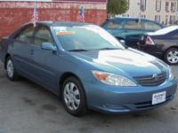 *** LIKE BRAND NEW - LOW MILEAGE 2002 Toyota Camry XLE