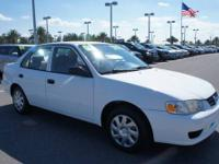 2002 Toyota Corolla 4 Door Sedan CE Our Location is: