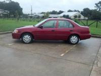 2002 Toyota Corolla Price: $4,388 Year: 2002 Make: