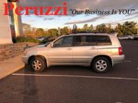 Clean CARFAX. 2002 Toyota Highlander V6 FWD 4-Speed