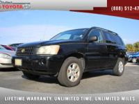 2002 Toyota Highlander V6, *** 1 FLORIDA OWNER ***