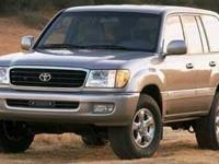 Toyota Land Cruiser Recent Arrival! Locally Owned and