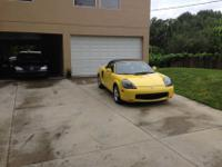 2002 Toyota MR2 Spyder68,900 MilesThis car was well