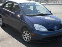 2002 Toyota Prius Hybrid with Only 63K Miles! Clean