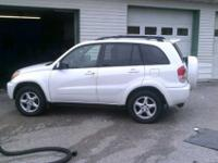 low mile rav 4!!!!!!only 80 k miles!!!!!looks and runs