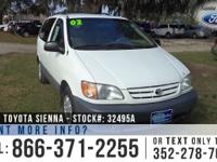 2002 Toyota Sienna CE. Attributes: Keyless Entrance -