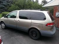 This mini van is in terrific shape, seats 7 people,
