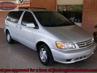 2002 Toyota Sienna Symphony Edition Van Pre-Owned. This