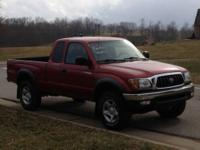 2002 Toyota Tacoma SR5 4x4, extended cab, V6, 5-speed,