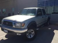 We are excited to offer this 2002 Toyota Tacoma SR5
