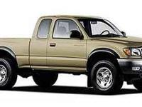 Come test drive this 2002 Toyota Tacoma! For drivers