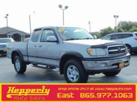 Clean CARFAX. This 2002 Toyota Tundra SR5 in Silver