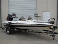 2002 TRITON 185 DC BASS BOAT WITH 150HP YAMAHA V-MAX