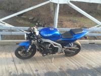 2002 Triumph Daytona 955i with 17k miles, rising. Great