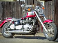 2002 Triumph Bonneville America for sale with many