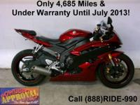 2002 Used Yamaha R-6 - Sport bike for sale. This is the