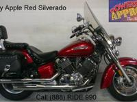 2002 Used Yamaha VStar 1100 Motorcycle For Sale-U1812