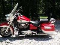 2002 VICTORY V92TC TOURING CRUISER WITH A 1507cc FUEL