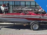 2002 VIP Stealth 190 bass boat in mint condition!