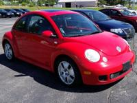 This rare 2002 Volkswagen Beetle Turbo S features a 180