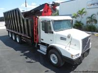 Stock # 18586 **Tri-Axle Truck** **Telescopic Boom**