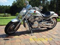 2002 VRSCA Harley-Davidson V-Rod (Initial Model Year.