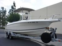 2002 21.5ft Wellcraft Center Console Fishing Boat, 150
