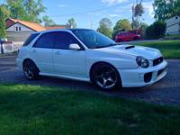 We are parting out a 2002 WRX wagon with sedan front